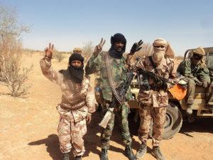 Bild zum Artikel: Bewaffnete in Mali