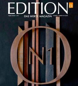 Bild zum Artikel: Cover des Magazins Edition