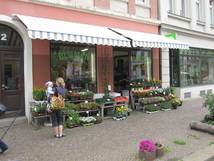 Blumenladen DaLat von draußen