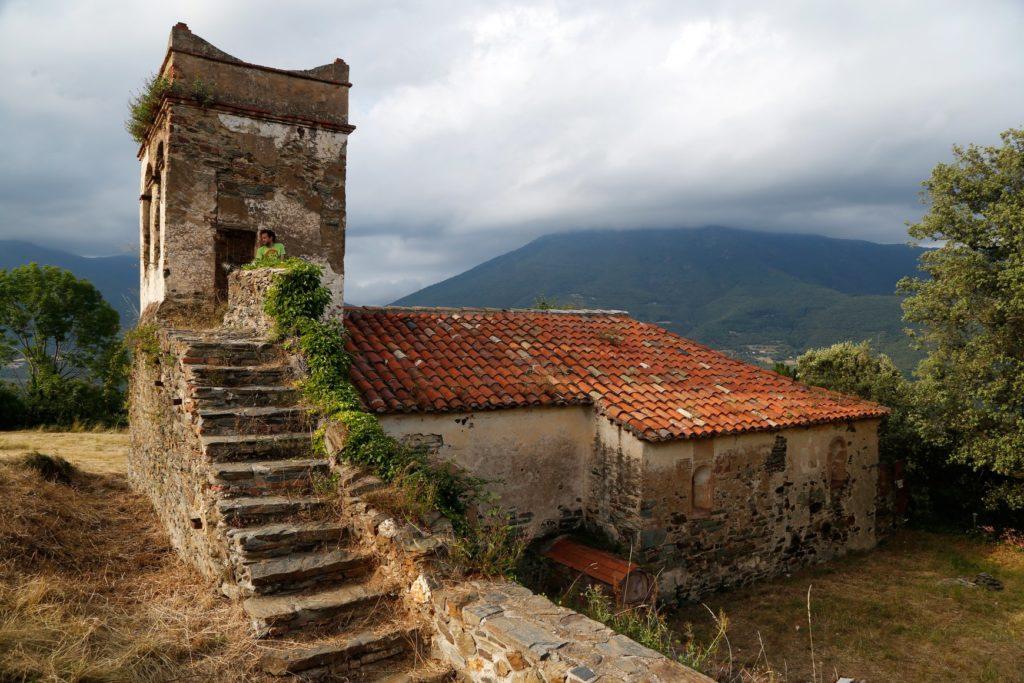 Decadència Viva – site-specific sound installation, chapel of Santa Susanna in El Polell