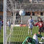 Im Netz des Fußballs.